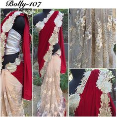 "ethniccollections: ""Price  2700  FABRIC - 9000 Pure Velvet And Soft Net Saree... WORK - Heavy embroidery workwith Full Pearl work... INNER - Pure Santoon... Blouse - Brocade with zari lace"""