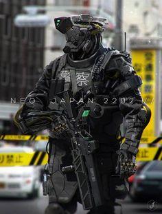 Japan Robot Enforcer
