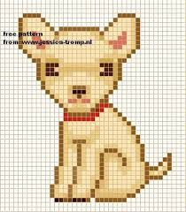 Chihuahua perler beads - Google Search