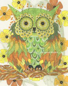 Whimsical Illustrations by Breanne Holden, via Behance