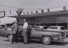 1968 Cadillac Eldorado The gentleman on the left is Jack Averitt, who was a salesman at Sewell Village Cadillac Dealer, Dallas.
