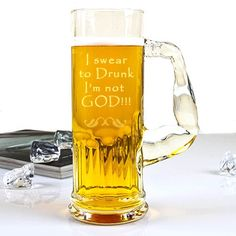 An Engraved Muscolo Beer Mug is the best choice for a gift to all those party mongers in the circle of your family and friends. None of the hearty Beer fans ever miss a chance to gulp a good amount of their potion at the least of provocations and a personalized engraved Mug must always be at their disposal.