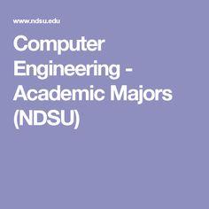 Computer Engineering - Academic Majors (NDSU)