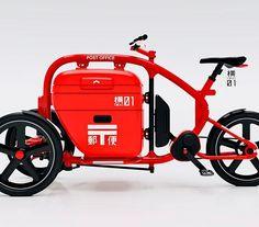 Japanese postal delivery cargotrike. 日本の郵便配達車を再構築してみました #dagastroke #cargobike #ebike #trike #カーゴバイク #製作中