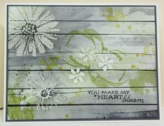 IC430 Rustic Flowers by Missro - Cards and Paper Crafts at Splitcoaststampers