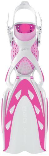 Mares x Stream Open Heel Scuba Diving and Snorkeling Fins Regular Pink White | eBay