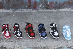 MINIBISH   Picasso Babe Release Adorable Knitted Air Jordan 1s - MISSBISH   Women's Fashion Magazine & Online Store
