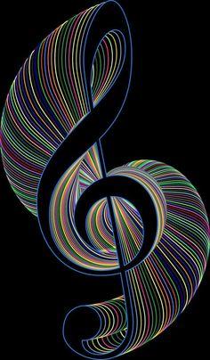 Ideas Music Ideas Art Treble Clef For 2019 Music Drawings, Music Artwork, Music Images, Music Pictures, Musik Wallpaper, Kaleidoscope Art, Musik Illustration, Art Fractal, Artist Logo