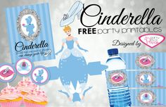 Planning a princess party? Get inspired with these Cinderella Birthday Party ideas including DIY decor, food ideas, craft & activities and FREE printables Cinderella Cupcakes, Cinderella Theme, Cinderella Birthday, Fairy Mermaid, Disney Princess Party, 4th Birthday Parties, Birthday Ideas, 5th Birthday, Party Printables