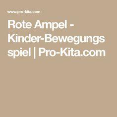 Rote Ampel - Kinder-Bewegungsspiel   Pro-Kita.com