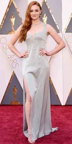 2016 Oscars Red Carpet Photos - Sophie Turner  - from InStyle.com