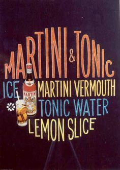 Looking for a classic cocktail? Try MARTINI vermouth and tonic with a sqeeze of lemon. #150years