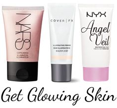 NEW! Phyrra Beauty for the bold Best Beauty Trends for 2015:Glowing Skin! Phyrra's Picks For Glowing Skin: Mix a luminizer(like NARS Copacabana Illuminator) into your liquid foundation or use an Illuminating Primer( such as the NEW Cover FX Illuminating Primer or NYX Angel Veil Primer.