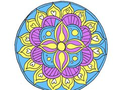 how to draw a mandala with free coloring pages art tutorials theory pinterest. Black Bedroom Furniture Sets. Home Design Ideas