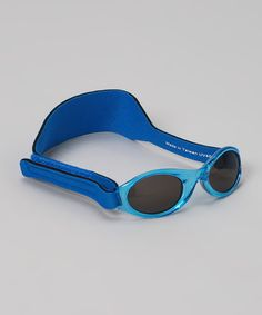 Love this Blue Infant Sunglasses - Infant by My First Shades on #zulily! #zulilyfinds