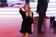 Sylvie Meis Photos Photos - Sylvie Meis during the 4th show of the tenth season of the television competition 'Let's Dance' on April 7, 2017 in Cologne, Germany. - 'Let's Dance' 4th Show