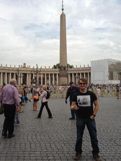 Here in Vatican City. What an amazing blessing to have been here.