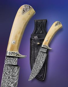 Knife Gallery (SOLD - Example Only)/Gamemaster Wedgie with engraving - Jerry Fisk Knives