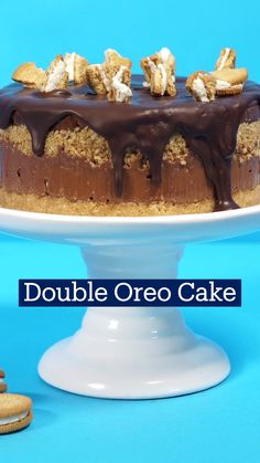 Fun Baking Recipes, Cake Recipes, Dessert Recipes, Cooking Recipes, Oreo Dessert, Oreo Cake, Easy Desserts, Delicious Desserts, Yummy Food