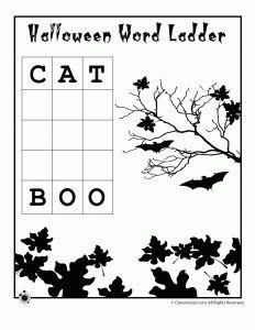 Halloween Word Puzzles | Woo! Jr. Kids Activities : Children's Publishing
