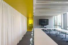 Interieur Corporate Learning Centre Westraven CLC Rijkswaterstaat Utrecht door Studio Groen+Schild