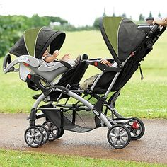 Choosing The Right Baby Mobile For Your Crib - Double Stroller - Ideas of Double Stroller - Elite Sit n Stand Double Baby Stroller I want the kids to be able to face each other Double Baby Strollers, Twin Strollers, Best Double Stroller, Baby Number 2, Baby Gadgets, Baby Carriage, Second Baby, Everything Baby, Baby Needs