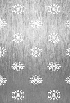 Silver Snowflakes | Christmas Wallpaper