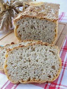 Ala piecze i gotuje: Chleb pszenno żytni z otrębami Polish Recipes, Polish Food, Keto, Bread, Baking, Cook, Polish Food Recipes, Brot, Bakken