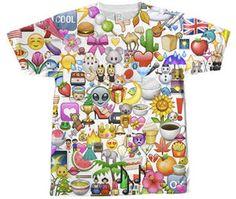 マジかw海外で「emoji(絵文字)」ファッションが流行中 ,