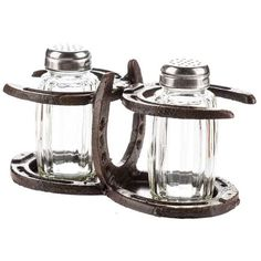 Horseshoe Salt & Pepper Holder & Shakers  #LGlimitlessdesign #contest