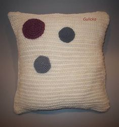 Gulicka / Vankúš Throw Pillows, Retro, Bed, Toss Pillows, Cushions, Stream Bed, Decorative Pillows, Beds, Decor Pillows