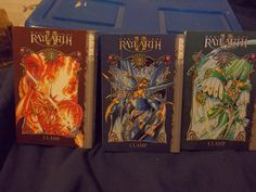 from $15.0 - Magic Night Rayearth Ii Clamp Vintage 1995 #Manga  Vf-nm Box Set Of Issues 1-3