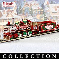 Rudolphs Christmas Town Express Electric Train Collection