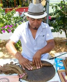 As you continue making your way through the Old Town Farmers' Market-Tianguis Cultural, be sure to stop by Cigar Don Martin where you'll find Martin Antemate Velasco, a Maestro Rolador (Master Maker of Cigars). http://www.banderasnews.com/1305/vl-vallarta-farmers-market-may-11.htm