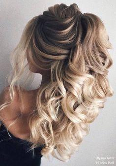 Ulyana Aster Long Wedding Hairstyles #weddinghairstyles