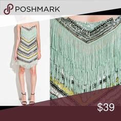 Zara Sequin Fringe Dress- Boxed & Ready to Ship!✈️ Zara Sequin dress is new with tags! Adorable for a night out or a party. Comes with extra sequins and beads just in case!  True to size. Zara Dresses