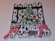 Christmas doggie embellishment