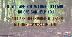 No one can stop you!