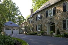 Historic renovation and addition by Melville Thomas Architects.  Addition to attach garage