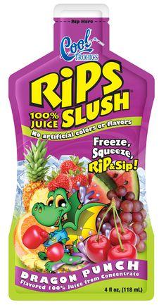 Cool Tropics Dragon Punch Slush