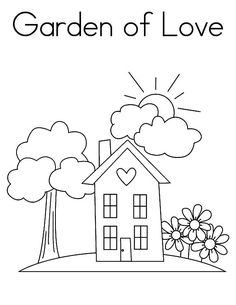 Watering Can Coloring Page Luxury Garden Watering Can and Flower Pot Coloring Pages Garden Coloring Pages, Love Coloring Pages, Online Coloring, Colorful Garden, Watering Can, Flower Pots, Clip Art, Canning, Luxury