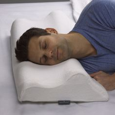 Sleep Innovations' new Memory Foam Anti-Snore Pillow is designed to reduce snoring for both back and side sleepers - a welcome relief for snoring sufferers and those who live with them. (Photo: Business Wire)