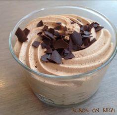 Koken en Kitch: Chocolade mousse