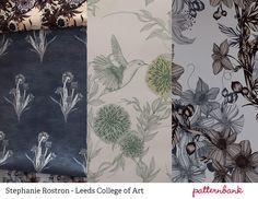 New Designers 2013 Part 1   Print & Pattern Graduate Highlights print pattern , Stephanie Rostron