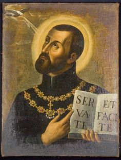 He was a saint in northern Italy who did valiant work to protect the Holy Catholic Faith there against the heresies and hatreds of the Protestant Reformation. He refused all ecclesiastical dignitie… Saint Cajetan, Happy Feast Day, Protestant Reformation, Blessed Virgin Mary, Religious Icons, Priest, Mystic, Catholic, Mona Lisa