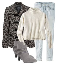 """Winter"" by karen-bachman ❤ liked on Polyvore featuring American Eagle Outfitters, BKE and Karen Scott"