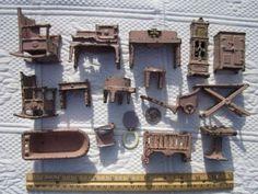 172 Best Kilgore Arcade Cast Iron Dollhouse Furniture