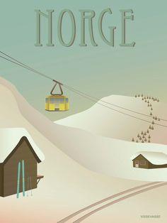 NORGE // Norway - snow