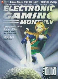Electronic Gaming Monthly Issue 113 December 1998 - Zelda : Ocarina of Time #N64