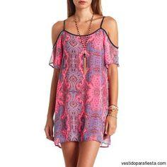 Vestidos cortos estampados de moda casual primavera 2015 – 12 - https://vestidoparafiesta.com/vestidos-cortos-estampados-de-moda-casual-primavera-2015/vestidos-cortos-estampados-de-moda-casual-primavera-2015-12/